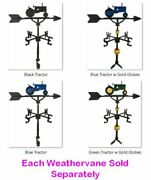32 Weathervane Colord Tractor Ornament Adjustable Clutch Base Directional Arrow