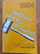 1984 Auction Prices Realized Book For U.s. Coins Auction Results For 1983