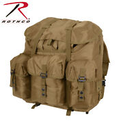Rothco G.i. Type Large Alice Pack With Frame Coyote Brown 2966