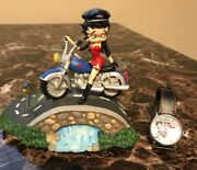 Betty Boop Rt. 66 Music Box Plays Born In The Usa And New Born To Boop Watch