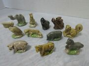 Wade England Red Rose Tea -animals -whimsies Figurines 10 Pc. Lot