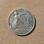 Long May They Reign George Vi Queen Elizabeth Crowned 1937 Medallion