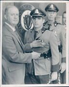 1970 Photo Robert Long Bill Powers Thomas Peterson Police Officers Ma Commander
