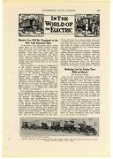 1914 New York Electrical Show Story And Pic Electric Cars At Grand Central Palace