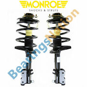 For Nissan Quest 2004 - 2009 Pair Front Monroe Quick Struts W/ Coil Springs