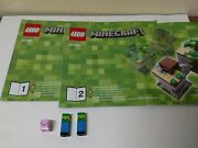 Lego Minecraft Micro World Forest 21102 Village 21105 Incomplete As Pictured