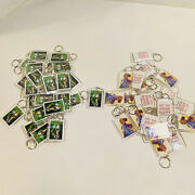 Lot Of 50 Anime Keychains 25 Silver Senshi Jupiter And 25 Hit The High Note New