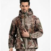 Tactical Soft Shell Camouflage Outdoors Jacket Hiking Camping Waterproof Coats