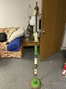 Fantastic Houze Glass Agro Slag Jadeite Floor Lamp C1920 Art Deco 59andrdquo Working