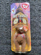Vintage Ty Beanie Baby Rare Britannia Doll In Plastic - With Errors