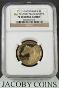 2012 S Sacagawea 1 17th Century Trade Routes Ngc Pf70 Ultra Cameo Brown Label