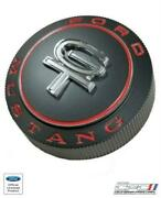 1966 Mustang Gt Gas Cap Assembly Restomod Black With Chrome Gt Emblem