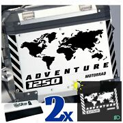 10 Stickers Reflective Compatible With R 1250 Gs Suitcases Side R1250 R1250gs
