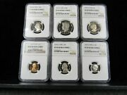 1979 S Type 2 Proof Set Graded Ngc Pf 69uc Clear S Variety