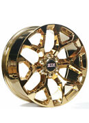 24andrdquo Str Wheels 701 Candy Gold Snowflake Replica Rims Fit Chevy / Gmc Free Ship