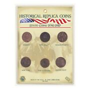 Colonial America State Coins - 6 Pieces - Historical Replica Coins