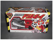 Takara J-decker Construction Combined Drill Toy Figure With Box Japan Shipped