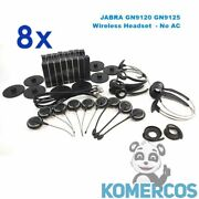 Lot Of 8 - Jabra Mix Gn9120 / Gn9125. Wireless Headset. W/ Accesories. No Ac.