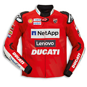 New Ducati Gp Team Replica 19 Leather Motorcycle Riding Jacket Size 58 981071258