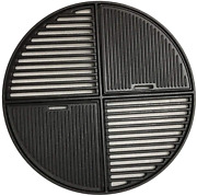 Round Cast Iron Cooking Grate For Weber 8837 22.5 Bbq Charcoal Grills Superdome