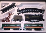 North Pole Express Battery Operated Train Set Christmas Decoration - Works Rare