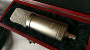 Peluso Microphone Lab P-49 W/shockmount Cable Wood Box Flight Case Power.andnbsp