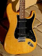 1979 Fender Stratocaster Cool Ash Body Hardtail W/a Rosewood Neck 7 Lbs.14 Oz.