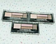 Covergirl Quad Palettes Eyeshadow 720 Blooming Blushes 3 Pack New And Sealed
