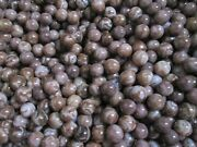 Marble Lot 20 Pounds Of 5/8 +or- Chocolate Swirl Champion Marbles Free Shipping