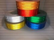 High Intensity Superbrite Type Iii/iv Reflective Safety Tape - Six Colors