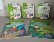 2012 Leap Frog Math And Reading Skills Flash Card Sets Workbooks Brand New