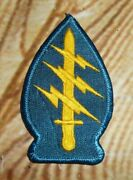 Vintage Vietnam War Airborne Ranger Special Forces Patch Sword 1970and039s Taiwan