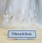 Villeroy And Boch Torino Water Goblet Wine Or Fluted Champagne