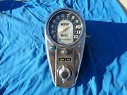 Oem H-d Speedometer W/ Dash And Switch Assembly Foot Shift Panhead Models