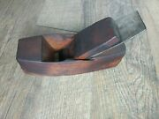 Antique Vintage Coffin Wood Plane Block A.l. Whiting And Co Woodworking Tools