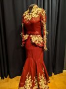 Leather Rodeo Pageant Dress