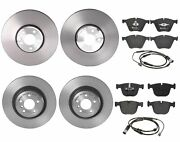 Brembo Front And Rear Brake Kit Low-met Pads Sensors Disc Rotors For Bmw F01 F02