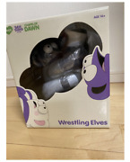 Rare Amos Silly Thing Chapel Of Dawn Wrestling Elves Figure