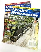 Model Railroader Magazine - 2 Issues - November And December 2007 - Good Condition