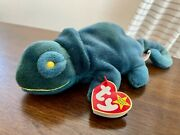 Rare And Retired - Ty Rainbow Beanie Baby - Pvc Filling - With Errors