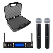 Uhf Wireless Mic System For Shure Beta58 Wireless Handheld With Carrying Case