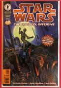 Star Wars Protocol Offensive 1 - Signed By Kenny Baker - Dynamic Forces Comic