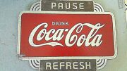 Coca Cola Kay Display Sign Ultra Rare Wood Sign Old Times Real Coke Collector