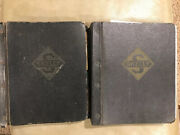 Vintage Skelly Oil Company Training Price Manual Marketing Leather Book Binders