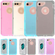 Wholesale Lot For Iphone 6 Plus/6s Plus Clear Transparent Hard Rugged Case Cover