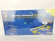 Secret Mission Crack The Code Board Game Learning Well Reading Comprehension