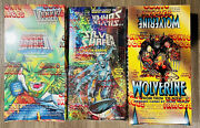 Marvel Box Lot 3comic Images -wolverine Andldquofrom Then Till Nowandrdquo Silver Surfer.