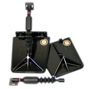 Nauticus Sx9510-60 Smart Sx Composite Trim Tabs 9.5x10 15and039-19and039 Boats 60-140 Hp