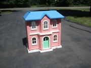 Vintage Little Tikes Playskool Barbie Doll House My Size Dollhouse Very Nice
