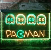 Hq Pacman Led Neon Sign - 16 X 12